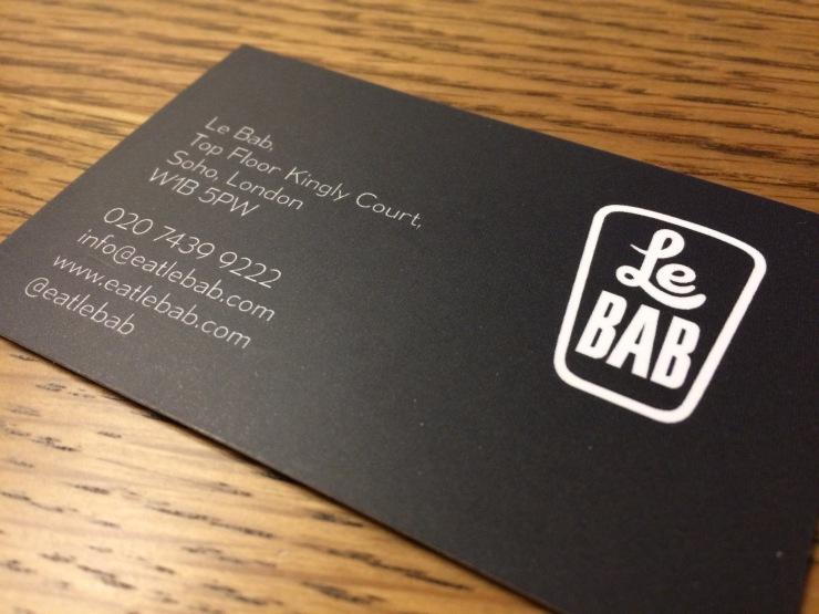 Le Bab Contact Details