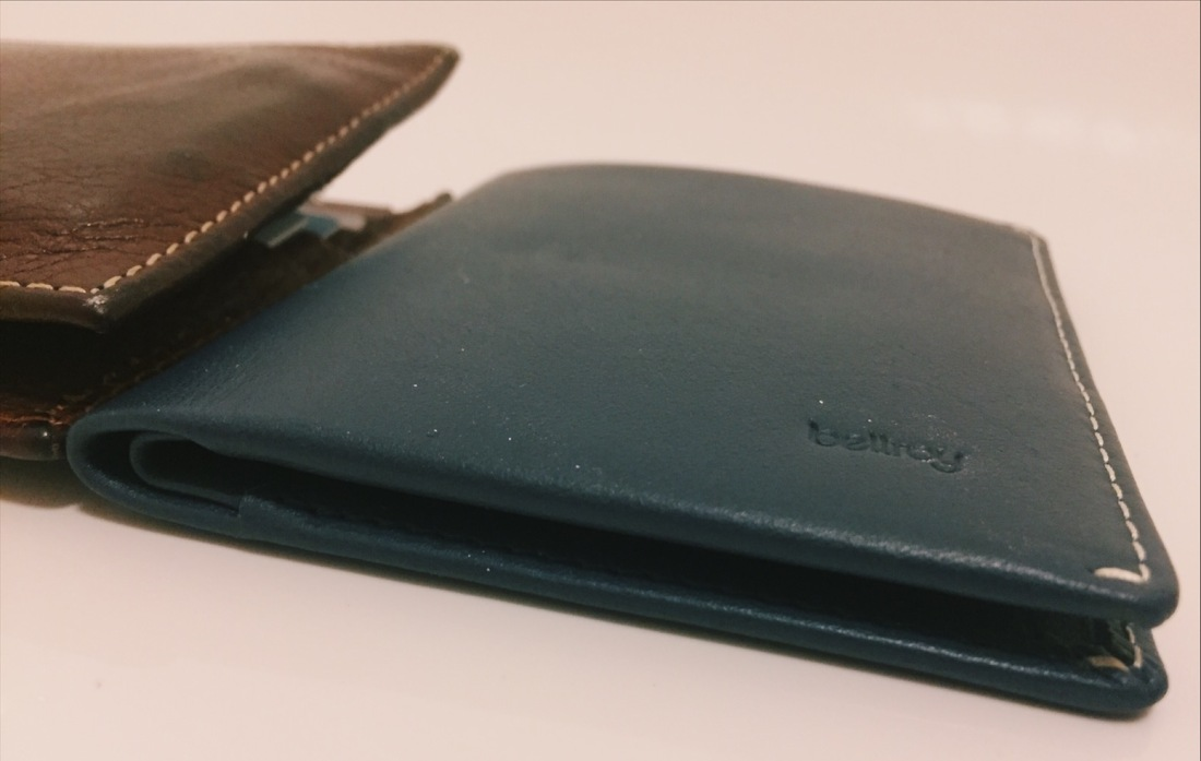 Bellroy Slim Leather Wallet vs Traditional Wallet