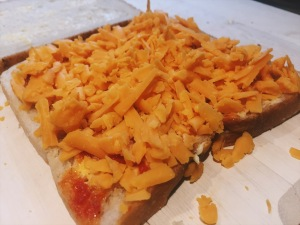 Red Leicester Cheese Postie