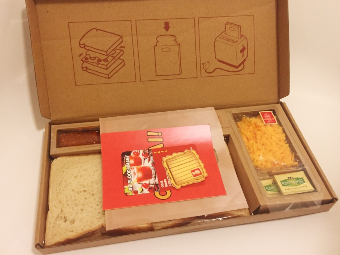 Cheese Postie subscription box
