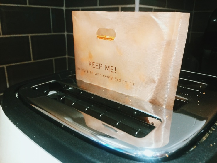 Cheese Postie toastie bag