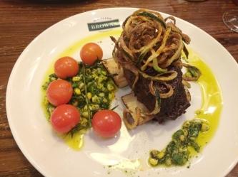 Browns BBQ beef ribs