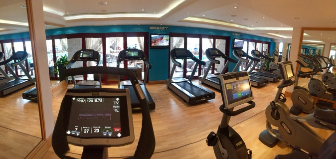 Fairmont Dubai gym