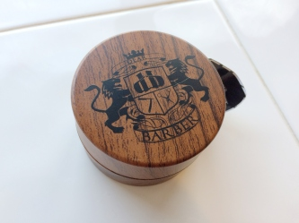 TheModernMan.co.uk Dear Barber Shave Biscuit