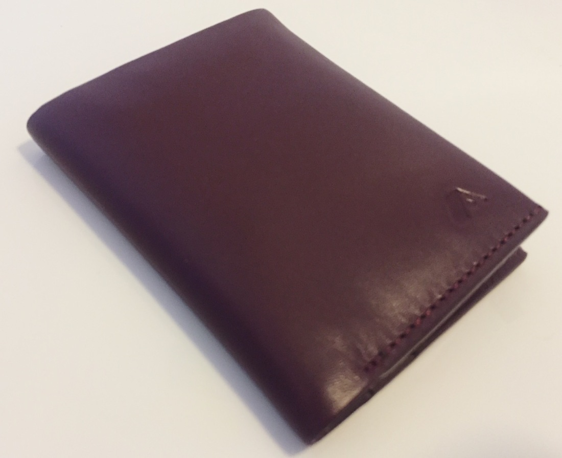 A-slim leather slim note wallet