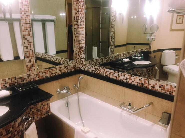 Fairmont Gold Bathroom
