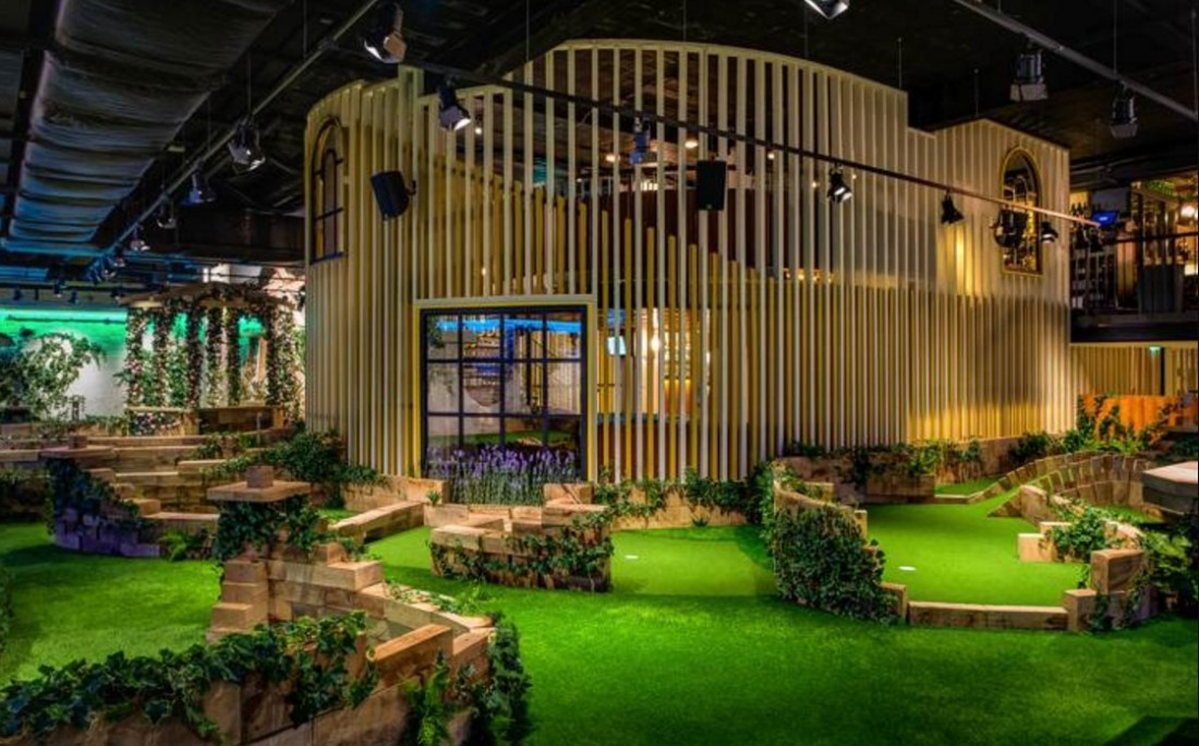 Swingers golf central London review