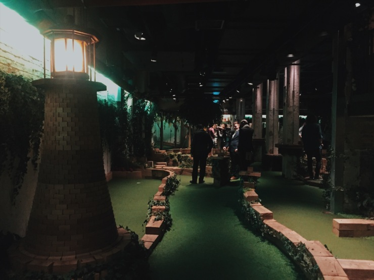 Swingers Crazy Golf Lighthouse