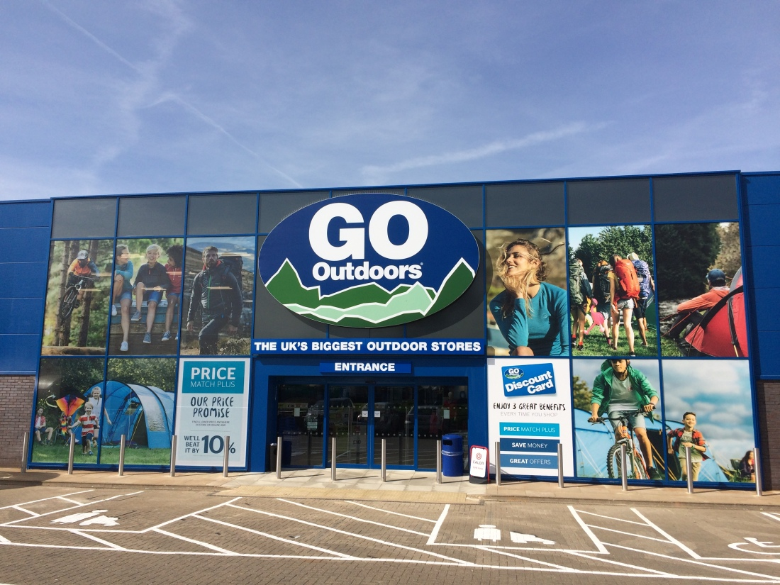 Go Outdoors Milton Keynes