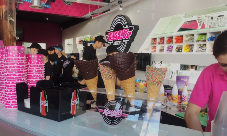 Milton Keynes dessert Kaspas icecream cones