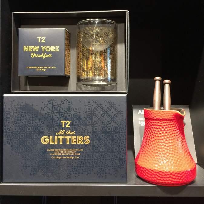 Posh glitter tea from T2