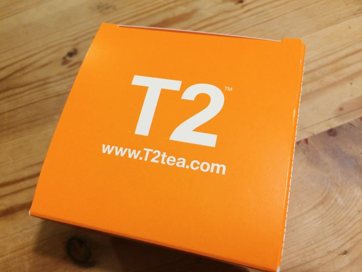 The T2 tea box
