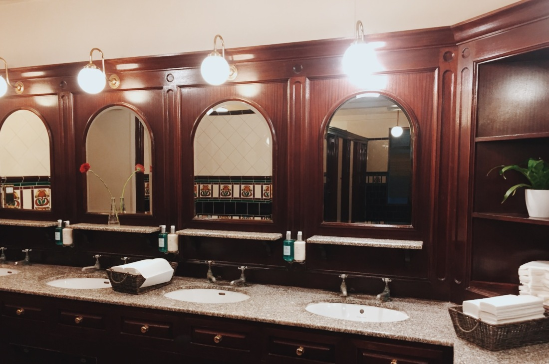 The Grand washroom