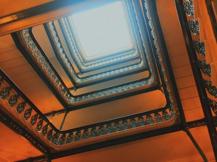 The Grand Brighton stairwell