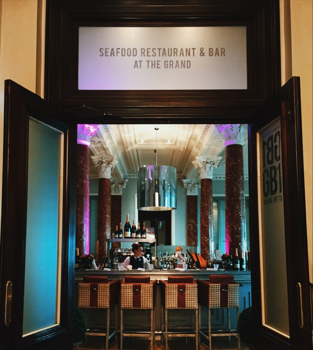 GB1 restaurant at The Grand Brighton