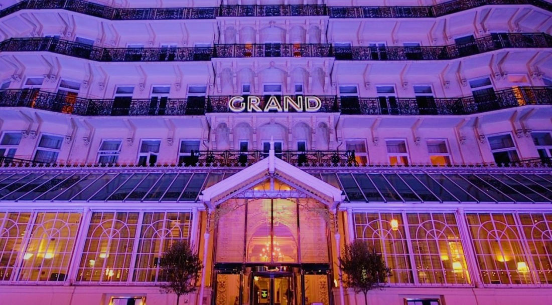 The Grand Hotel in Brighton review