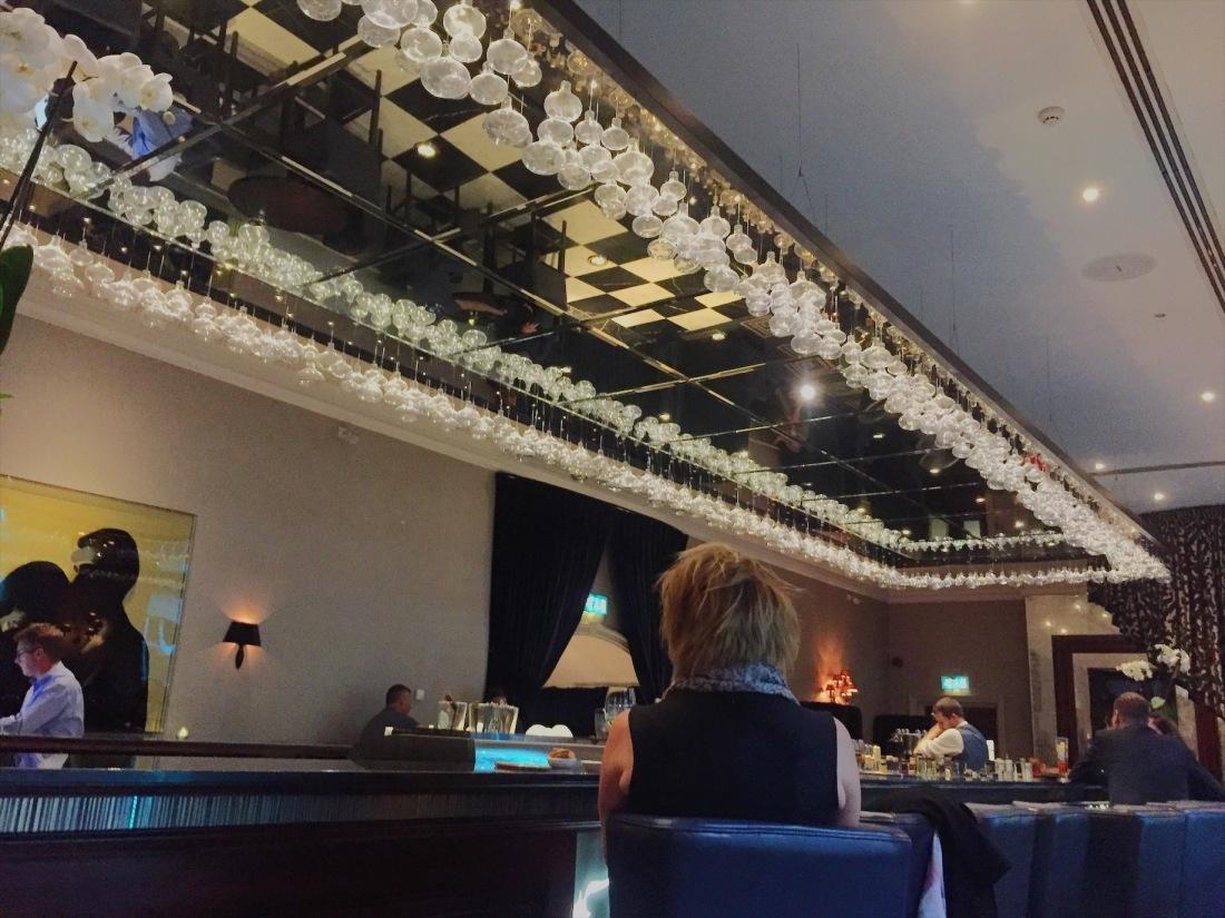 The Grosvenor's bar, Reunion
