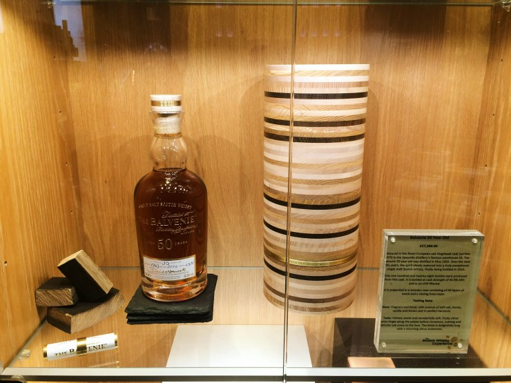 50yr old Balvenie Whisky