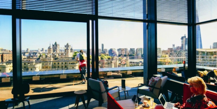 CloudM rooftop bar and terrace view