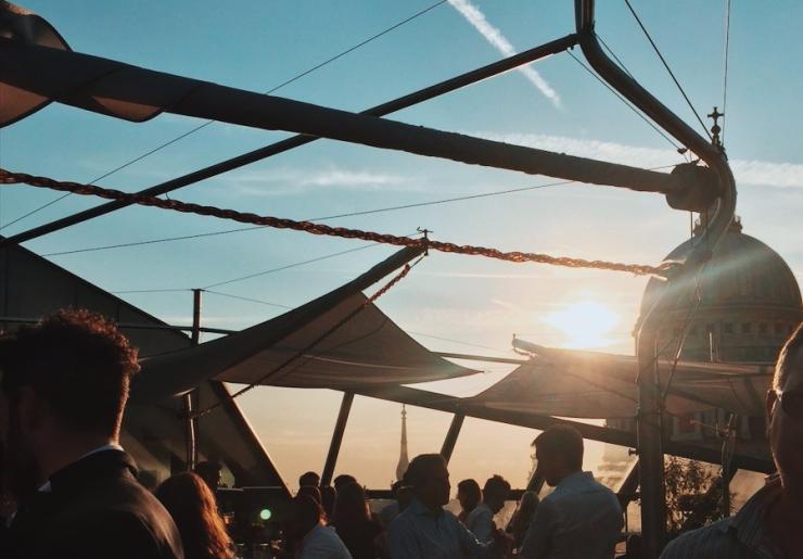 Madison Rooftop bar, London