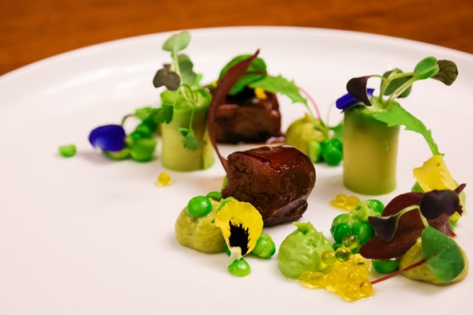 Paris House Crispy Lamb & Pea (2)