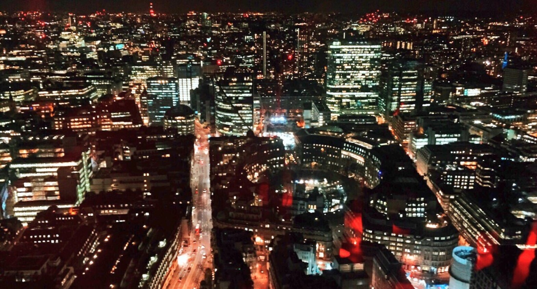 The view from Duck & Waffle