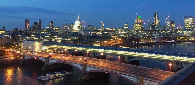Rumpus Room view rooftop bar London