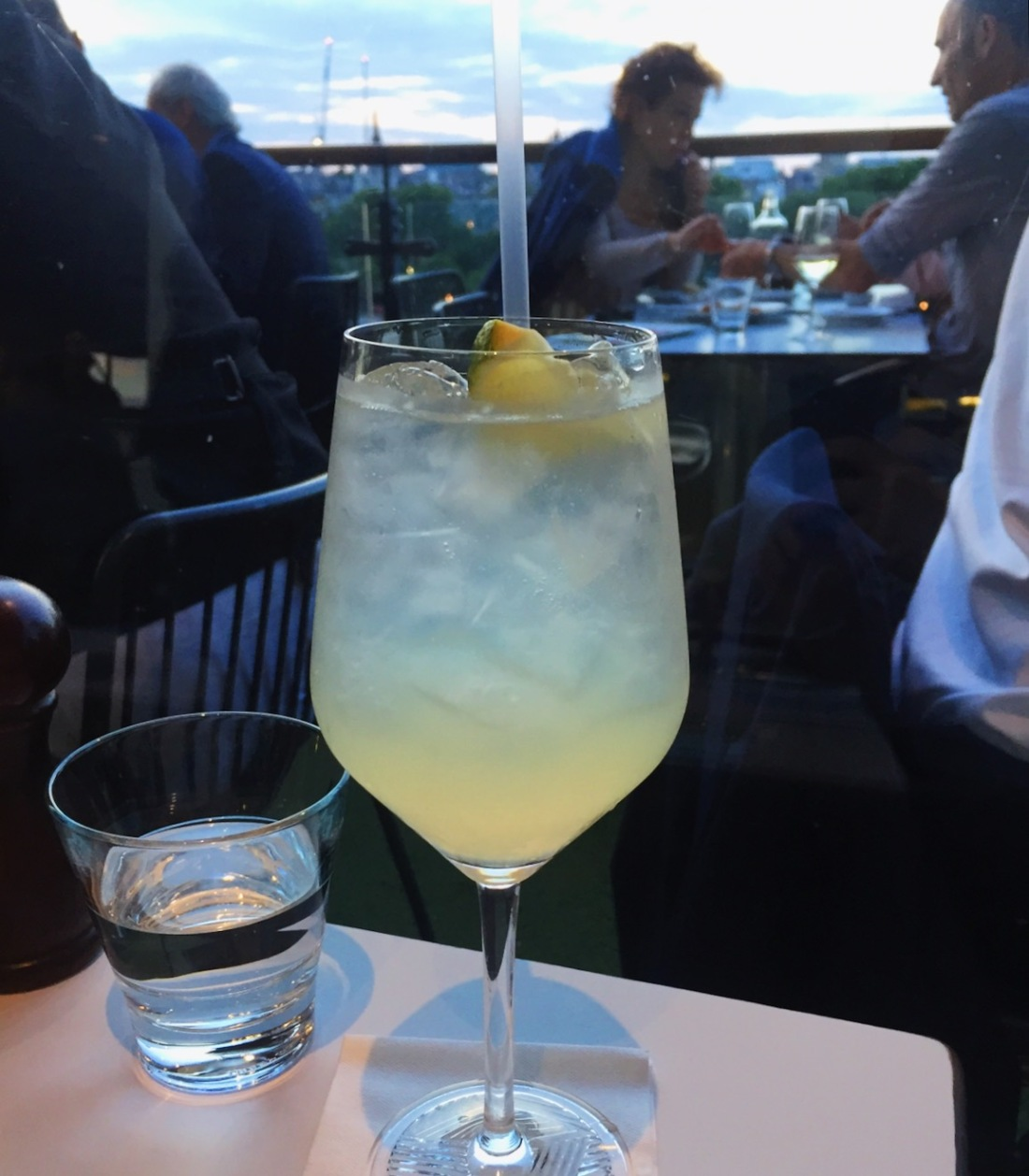 Grey Goose Le Grand Fizz cocktail at Oxo Tower London