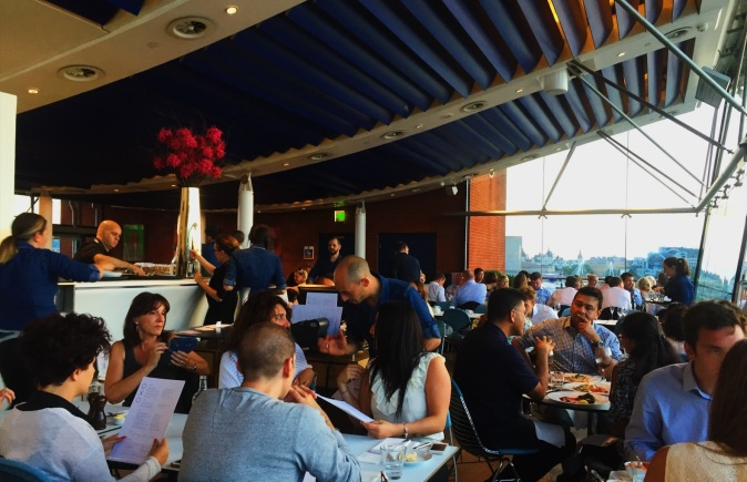 Oxo Tower Restaurant review London