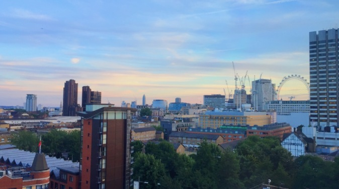 Oxo Tower view