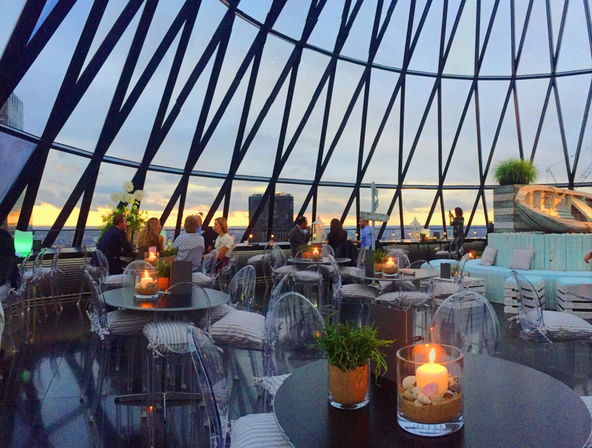 Searcys At The Gherkin Review Two Men About Town