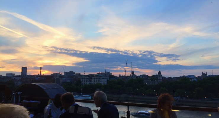 Oxo Tower Brasserie view