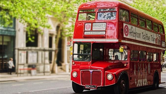 London Afternoon Tea Bus Tour Review