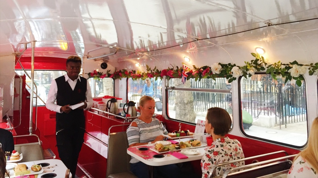 London Afternoon Tea Routemaster Bus Review