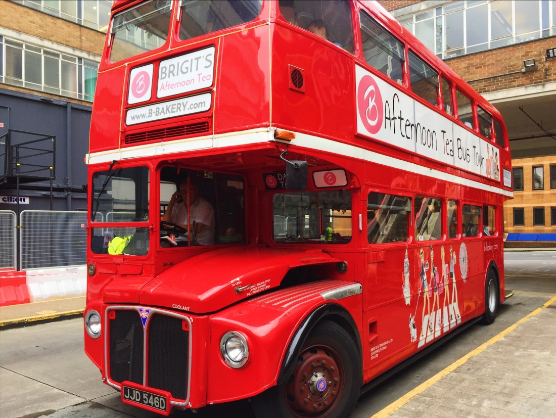 London Bus Afternoon Tea Review B Bakery