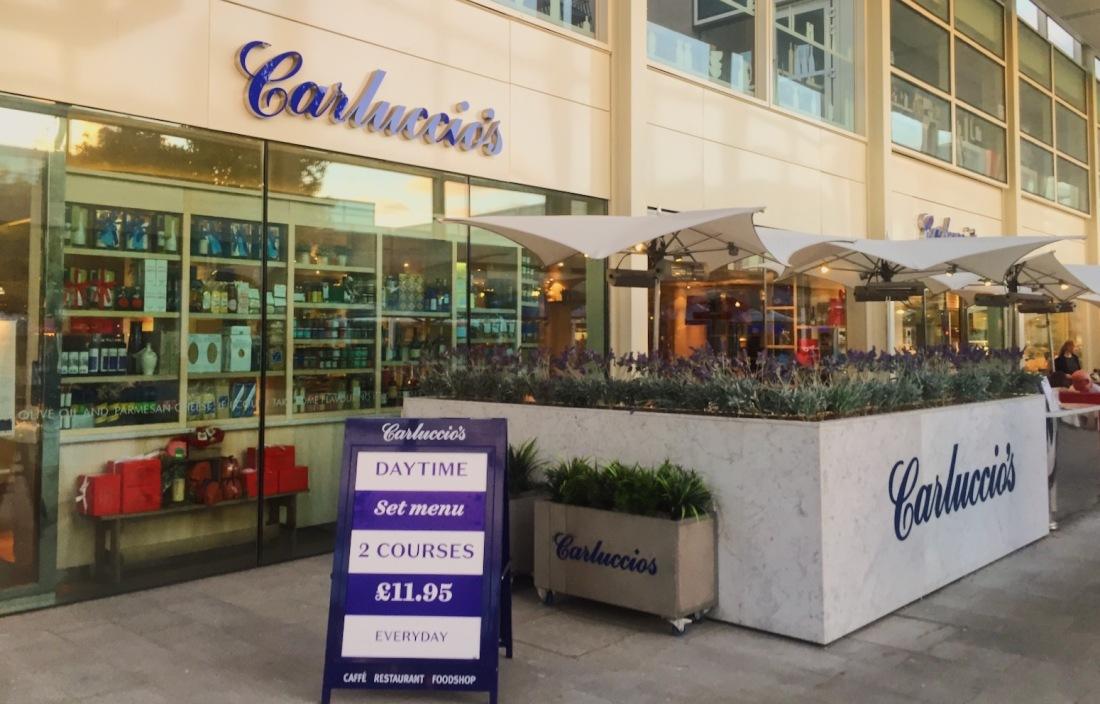 Carluccio's Milton Keynes restaurant review