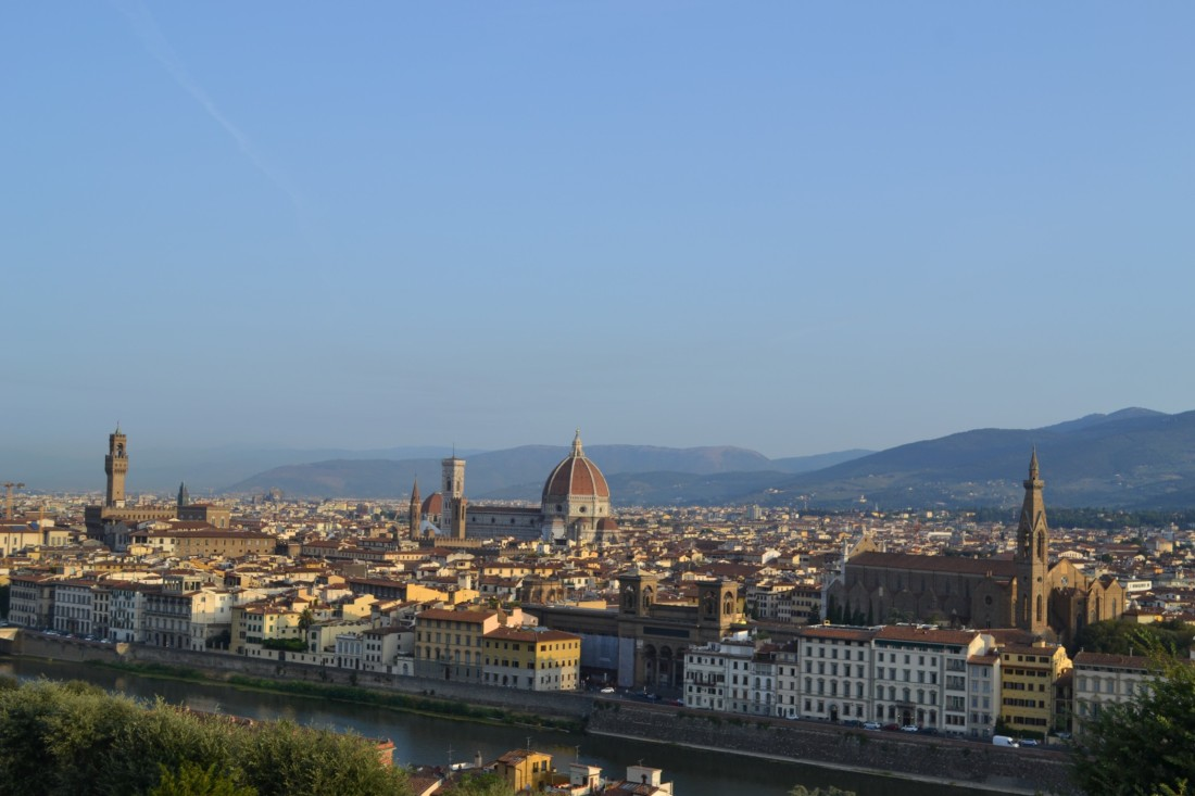 Italy-Florence-Piazzale Michalanelo